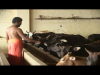 Swamiji feeding the cows