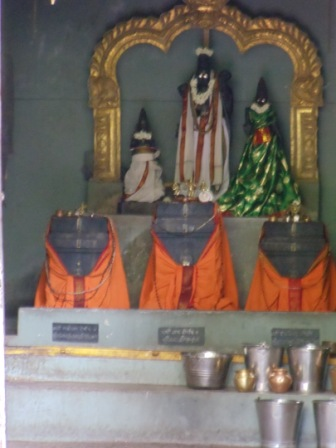 Sri Jateertha, Sri Ragothama, Sri Raghavendra Swamigalu