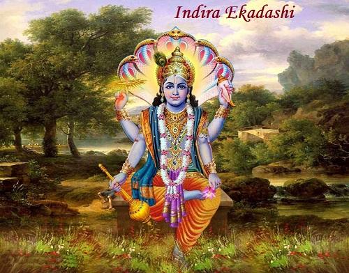 Happy Indira Ekadashi Vrat Images for Free Download