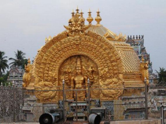 Srirangam Gopuram 2